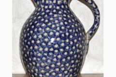 Blue-spongeware-jug